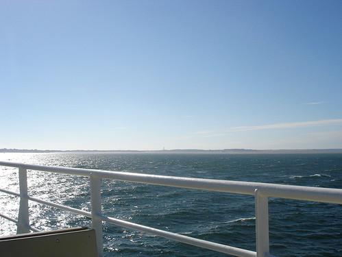 auf der Fähre Nordsee