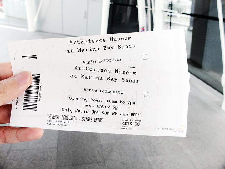 annie leibovitz exhibition tickets