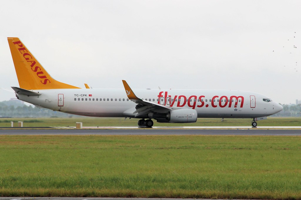 TC-CPK - B738 - Pegasus Airlines