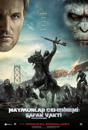 Maymunlar Cehennemi: Şafak Vakti - Dawn of the Planet of the Apes (2014)