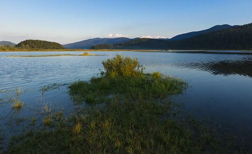 summer landscape geotagged evening slovenia slovenija notranjska cerknicalake cerkniškojezero intermittentlake