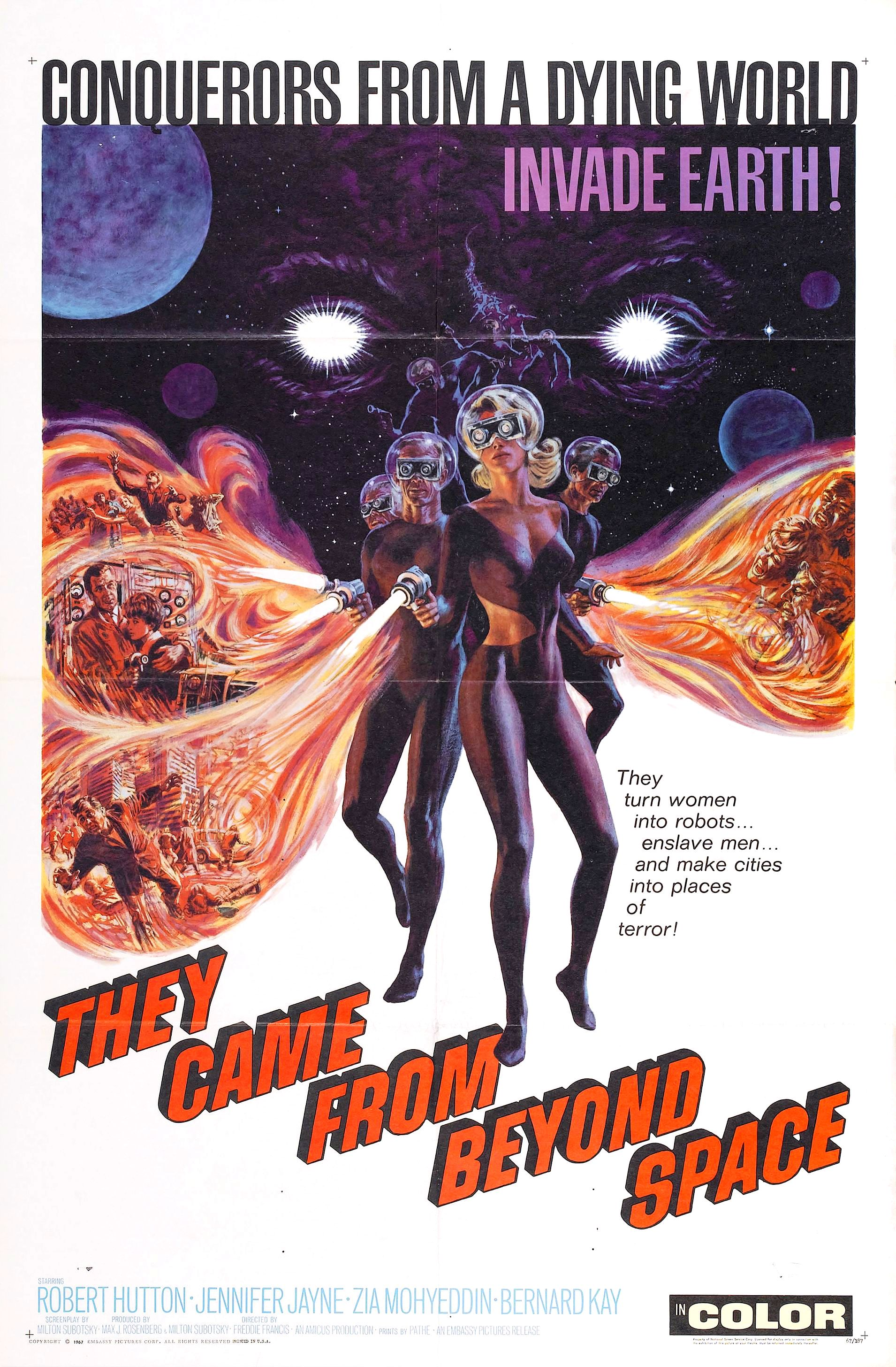 They Came from Beyond Space (1967)
