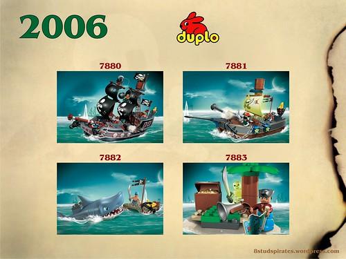 LEGO Pirates Timeline 2006