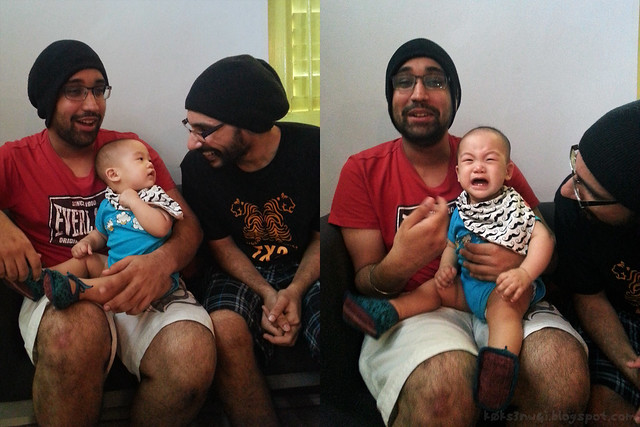 226 Days Old - Darwin Meets Himmat and Arvinder Singh and Had a Racist Outburst