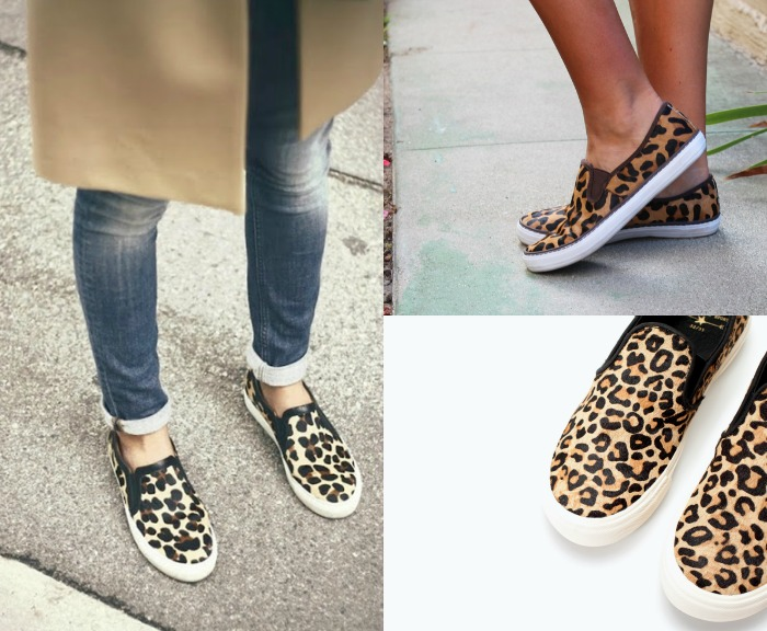 slip on leopardo