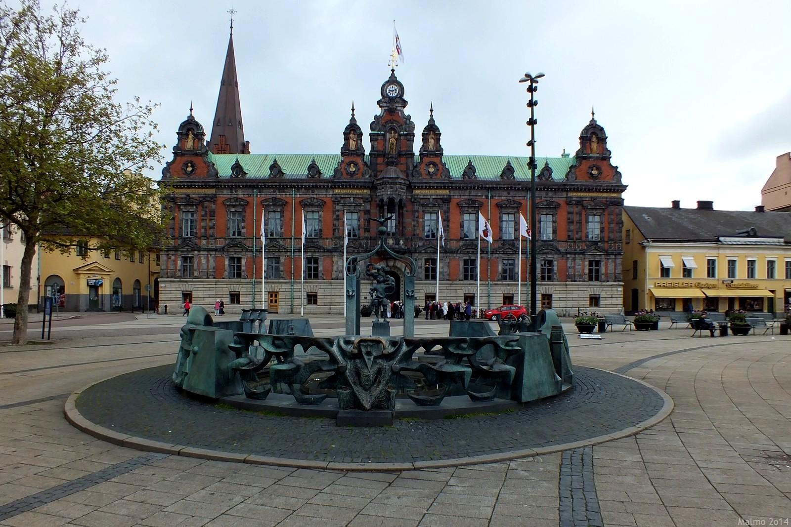 Malmö Town Hall, Malmö, Sverige