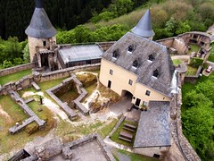 Burg Bourscheid in Luxemburg