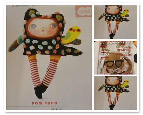 My doll published in Stuffed magazine