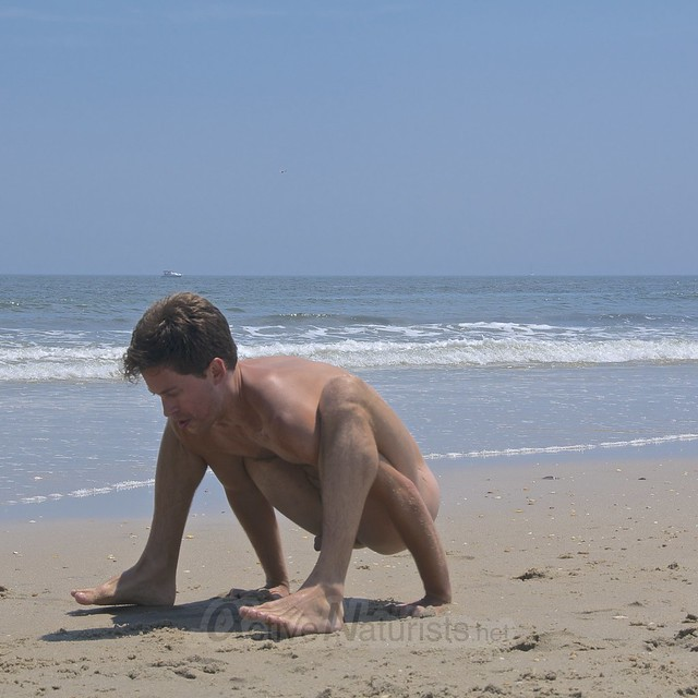 naturist yoga 0001 Sandy Hook, NJ, USA