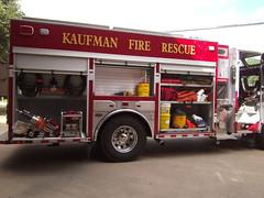 Kaufman, TX FD Engine 1