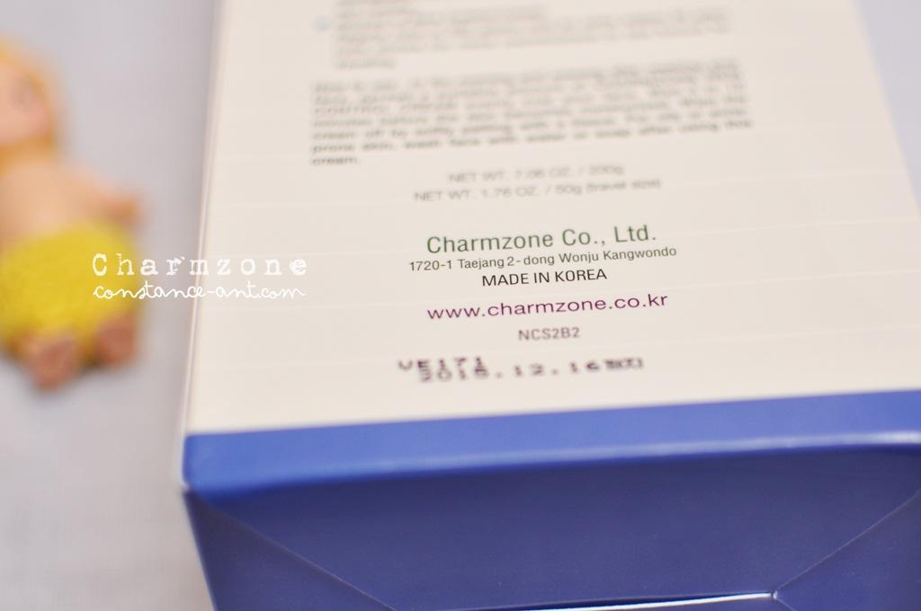 {Beauty} Charmzone New Control Cream