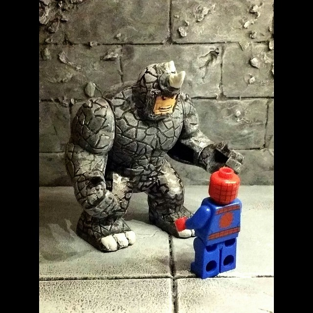 Custom Rhino LEGO minifigure.....
