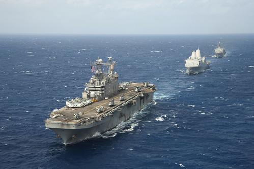 Peleliu ARG Arrives in Pearl Harbor