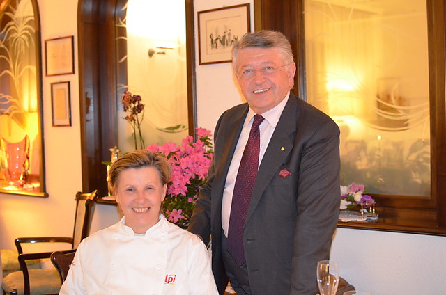 Luisa Marelli and Angelo Valazza, Al Sorriso Restaurant Hotel, Soriso