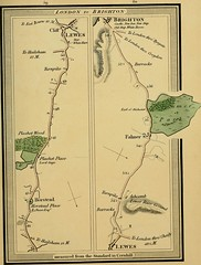 """Image from page 76 of """"Survey of the high roads of England and Wales : part the first comprising the counties of Kent, Surrey, Sussex [etc.], planned on a scale of one inch to the mile ... accompanied by indexes, topographic and descriptive .."""" (1817)"""