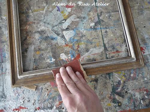 Como transformar molduras antigas em espelhos coloridos