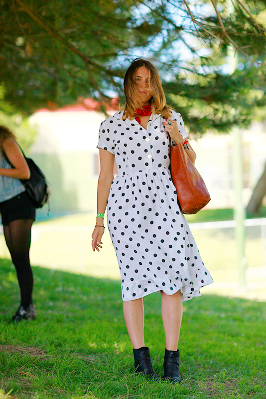 polkadot Phono del Sol, Quick Shots, San Francisco, street fashion, street style, women