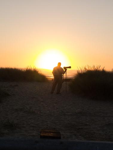 Tom at Sunset at Bastendorf Beach