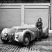 Dorothy Patten with her Peugeot 402 Darl' Mat by Tuuur