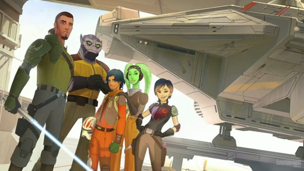 Un vistazo extendido a #StarWars Rebels