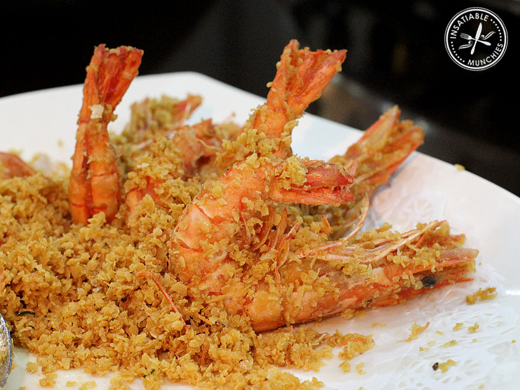 Malt, oatmeal, and prawn come together to create a crispy, moreish dish that is a favourite with adults and children alike.