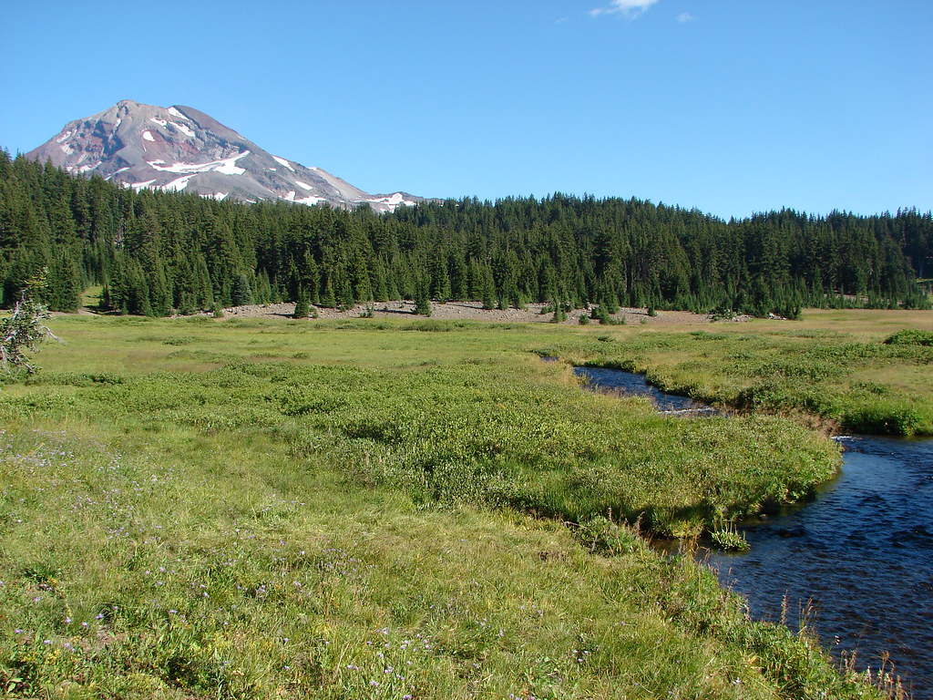 South Sister and Linton Creek