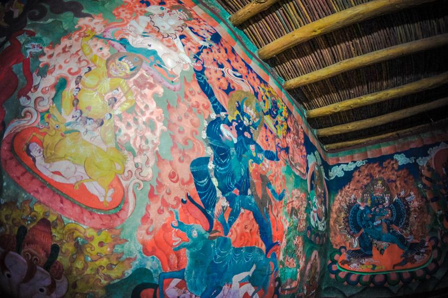 Идамы учения, духи-защитники. Монастыри Ладакха (Монастыри малого Тибета) © Kartzon Dream - авторские путешествия, авторские туры в Ладакх, тревел фото, тревел видео, фототуры