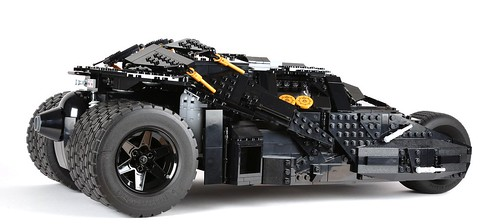 Review 76023 The Tumbler part 3 The completed model  Brickset