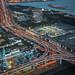 Tokyo Highways Aerial View