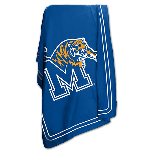 Memphis Tigers NCAA Classic Fleece Throw