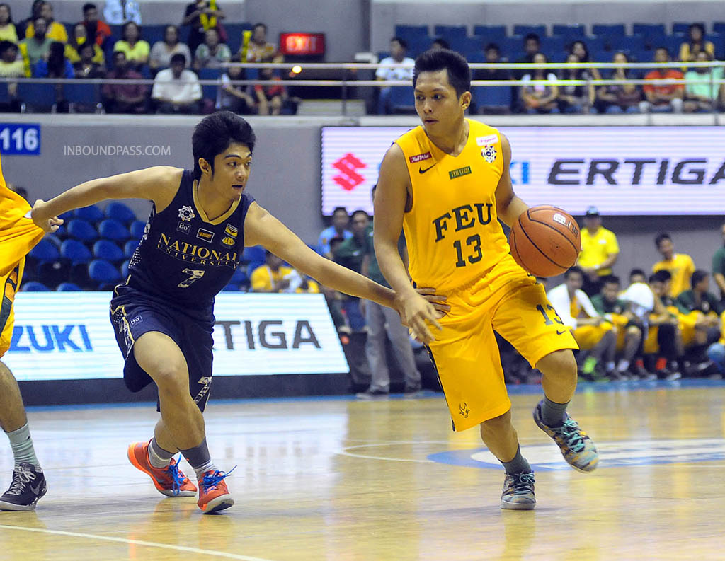 UAAP Season 77: FEU Tamaraws vs. NU Bulldogs, Aug. 17