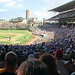 Pano of Wrigley Field by spudart