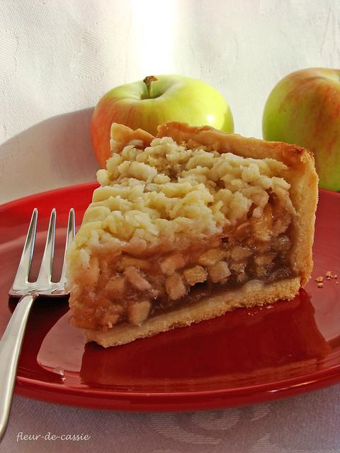 австралийский яблочный пирог 4