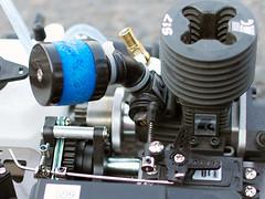 Motor vom ferngesteuerten Auto