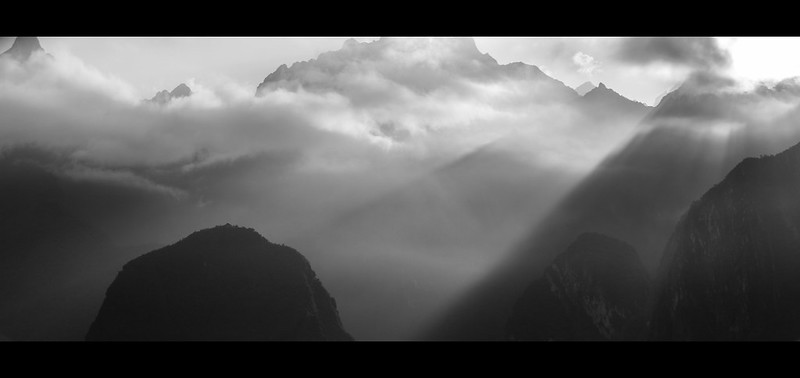 Morning Rays, Machu Picchu