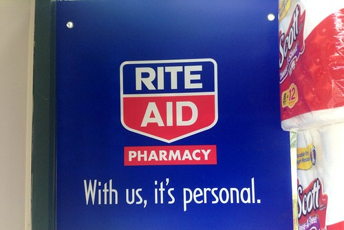 Rite Aid, With Us, it's Personal, Signs, 2014, by Mike Mozart of TheToyChannel and JeepersMedia on YouTube #Rite #Aid