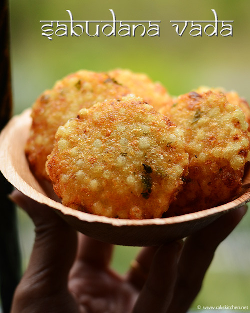 how to prepare sabudana vada video