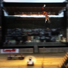 It's Friday. Go BIG! These dudes sure as hell did last night. #braap #fmx #tgif