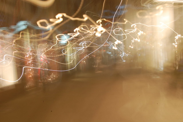 long exposure lights streetview
