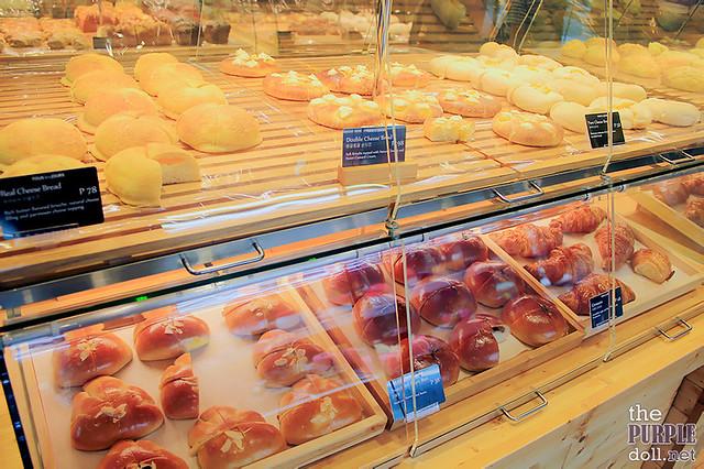 Breads at Tous Les Jours
