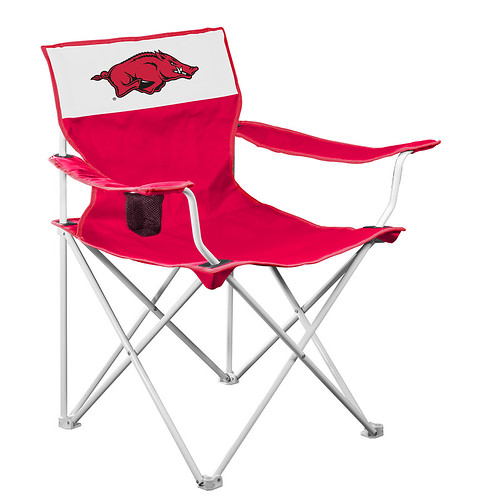 Arkansas Razorbacks Canvas TailGate/Camping Chair