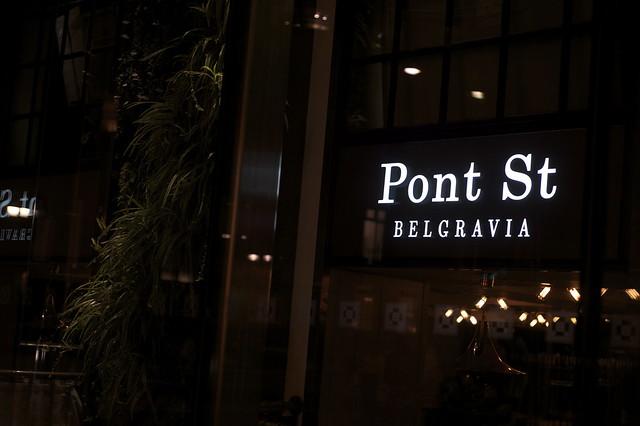 Pont Street Restaurant, Belgraves Hotel - DSC_5455