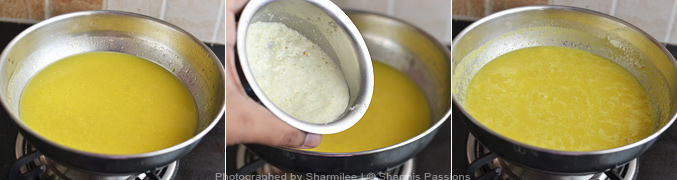 How to make dal - Step3