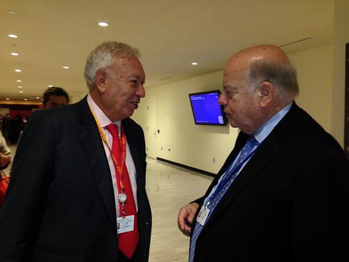 OAS Secretary General Met Foreign Minister of Spain