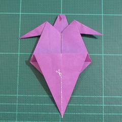 วิธีพับกระดาษเป็นรูปเต่าแบบง่าย (Easy Origami Turtle) 016
