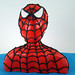 tarta busto spiderman2
