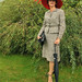 Lady in red hat 1