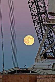 Harvest Moon at Mare Island 2