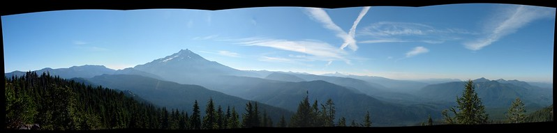 View from Triangulation Peak