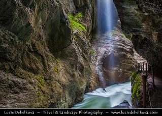 Germany - Bavaria - Garmisch-Partenkirchen District - Partnach Gorge